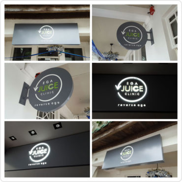 3D Lighted Signboard